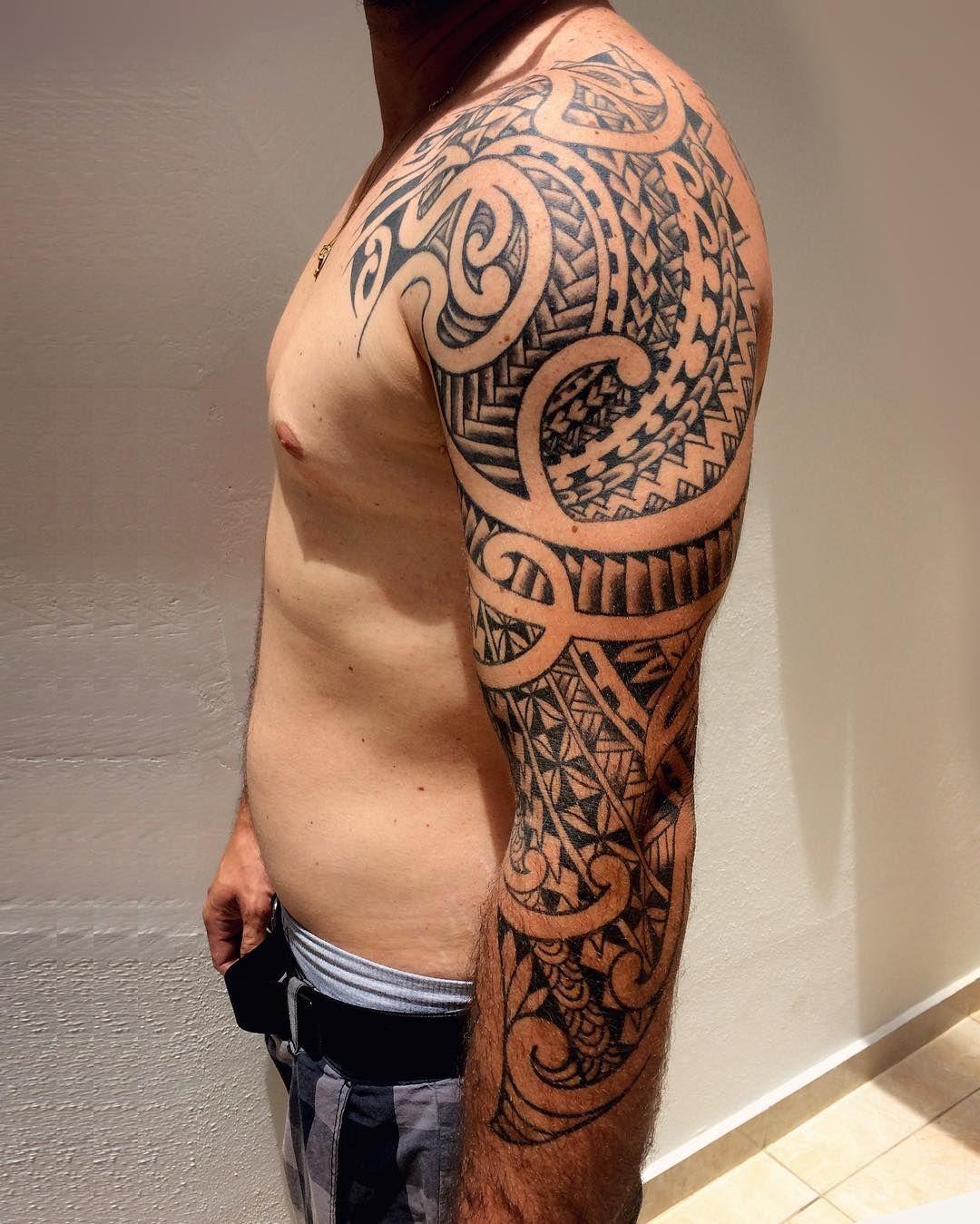 Maori Patterns Tattoo: 35 Best Maori Tattoo Designs