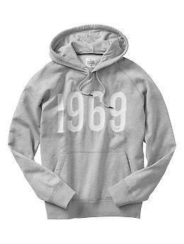 1969 heritage fleece hoodie - Sweatshirts