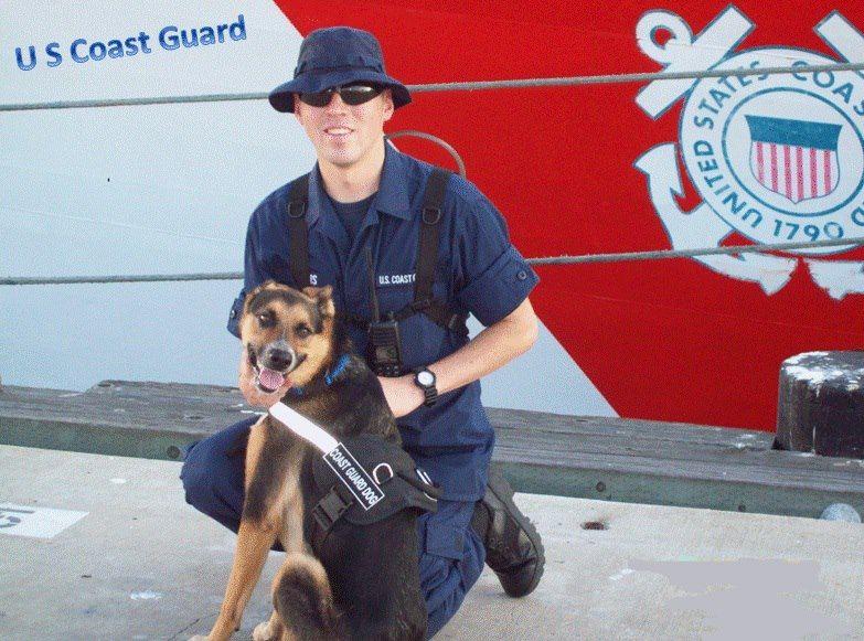 Coast Guard Dog 3 Coast Guard Coast Guard Navy Coast Guard