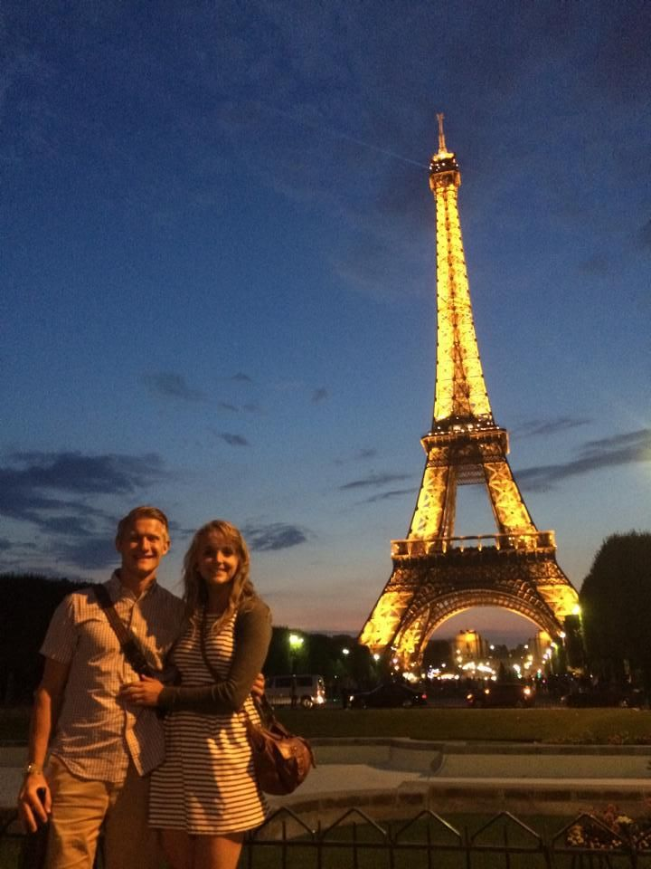 Backpacking through Europe, Eiffel Tower, Paris