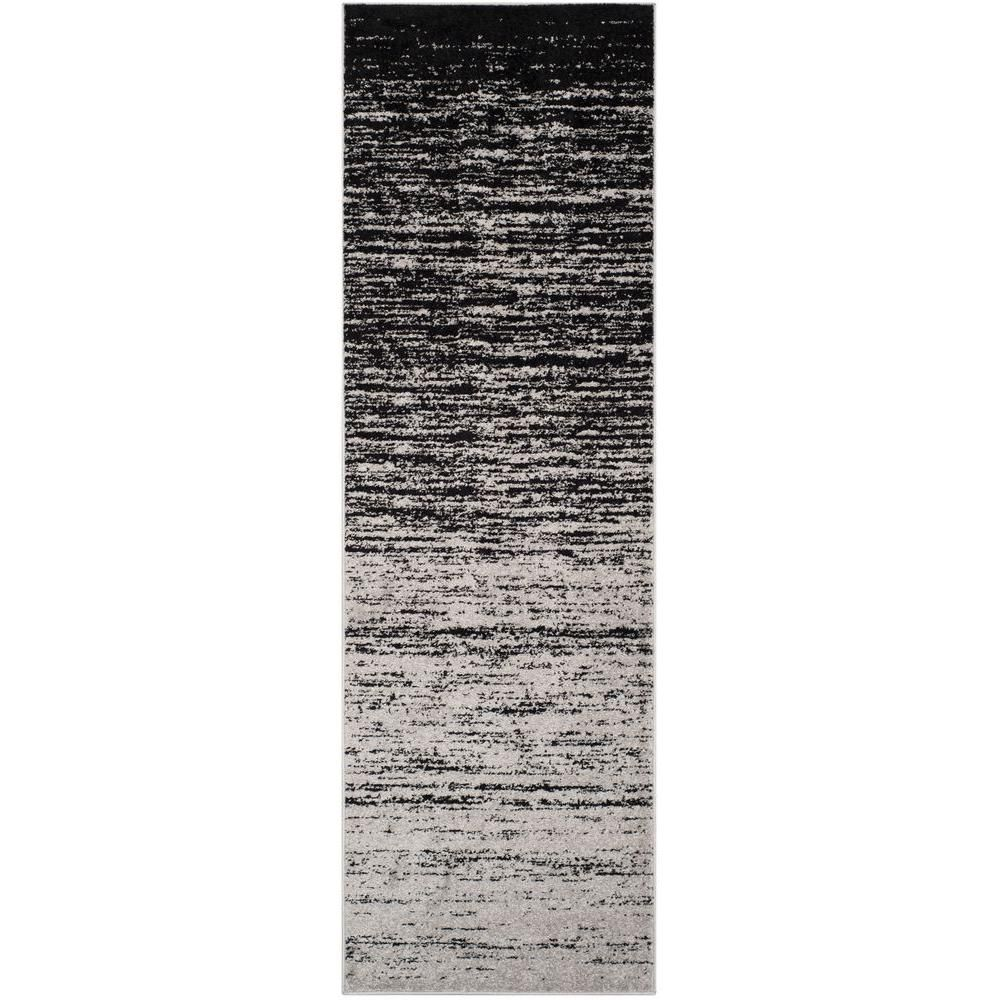 Safavieh Adirondack Light Blue Dark Blue 9 Ft X 12 Ft Area Rug Adr113f 9 Area Rugs Black Runner Rug Black Rug