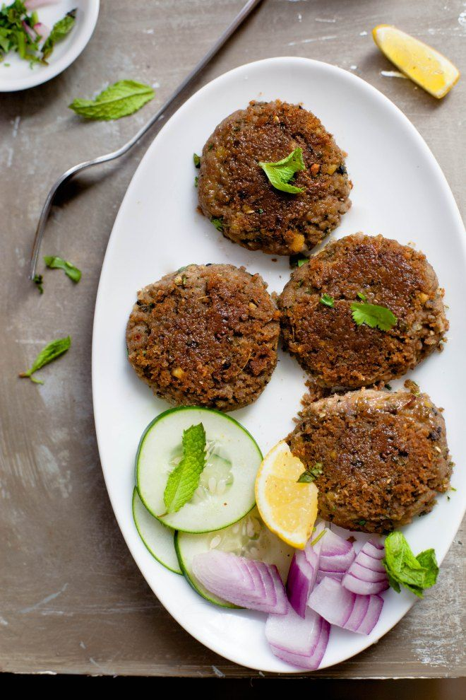 Sinfully Spicy :Lamb Shaami Kabab #indian #spicy #recipe