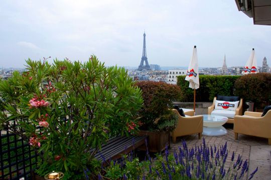 Terrazza Martini - rooftop terrace in Paris | Places I\'d Like to Be ...