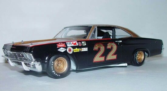 Model Car Not Mine Of The 1965 Chevrolet Impala Smokey Yunick