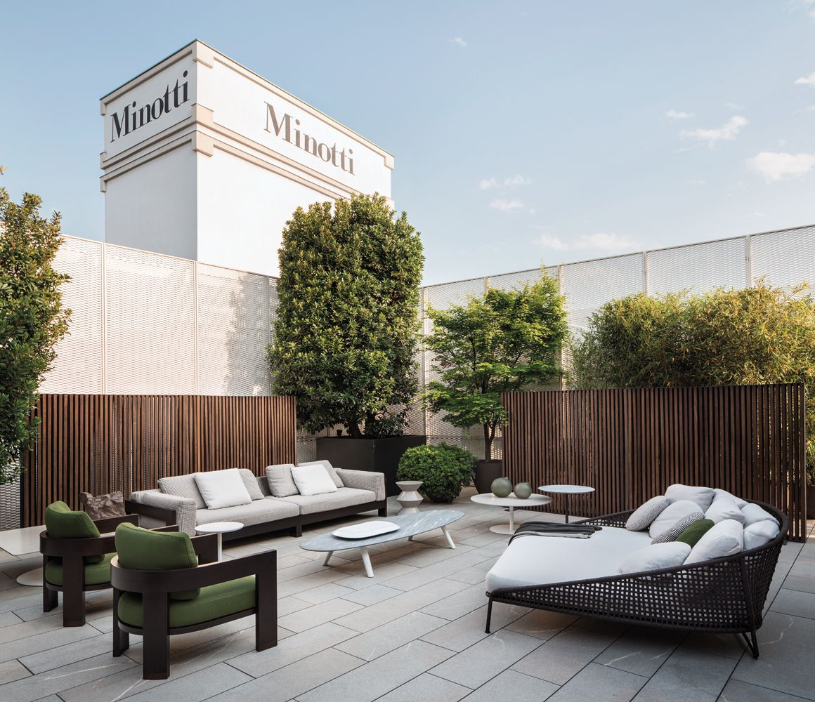 Minotti Outdoor Collection Alison Quot Dark Brown Quot Iroko