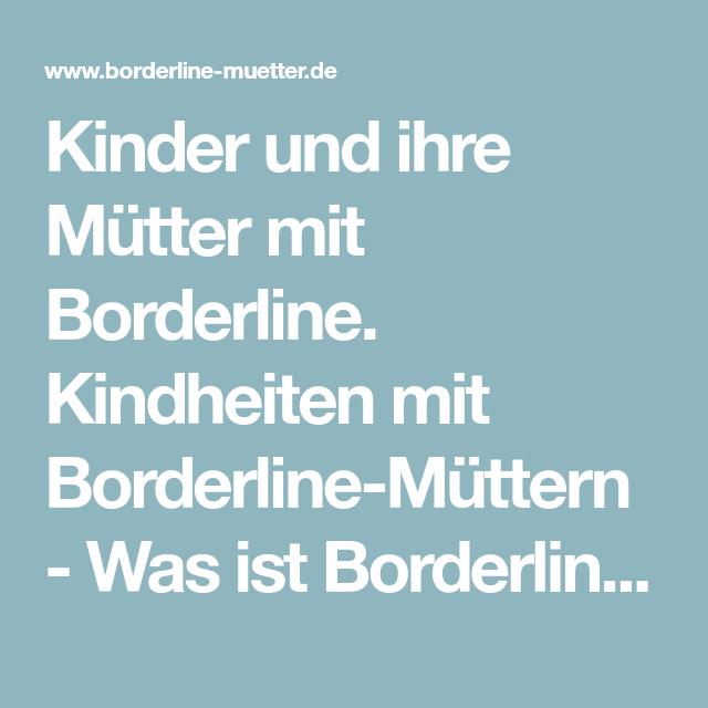 Von borderliner trennen