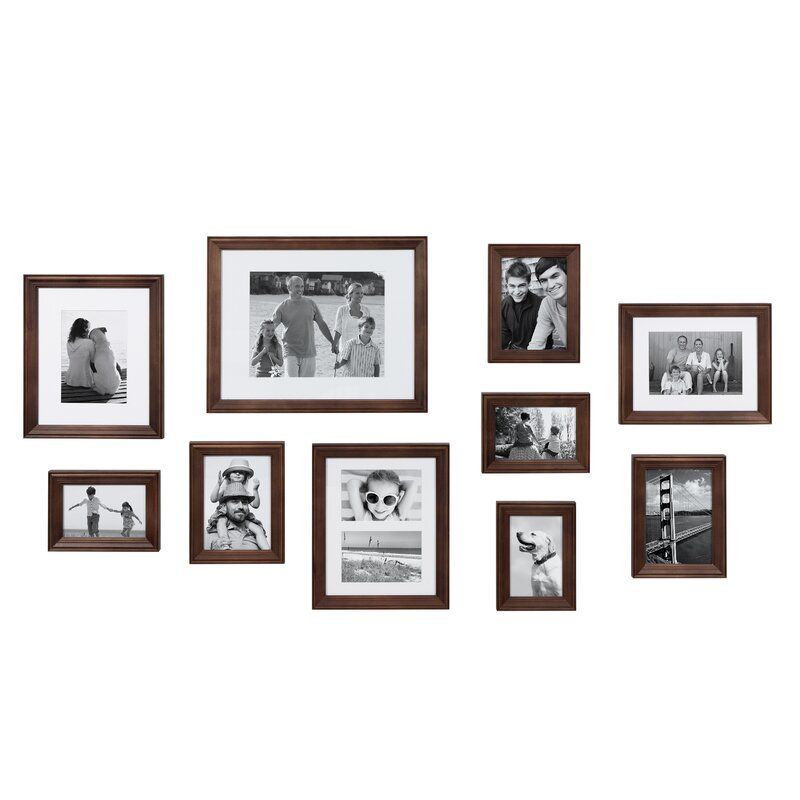 10 Piece Sturminster Gallery Picture Frame Set In 2020 Frames On Wall Gallery Wall Frames Gallery Wall Kit