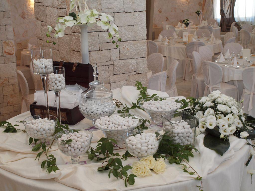 Tavolo Confettata ~ Confettata idee matrimonio allestimento confetti