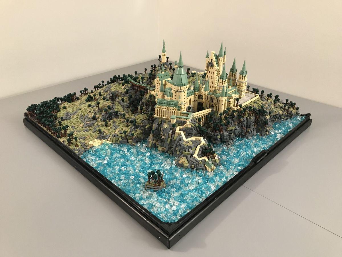 Hogwarts Castle Lego Hogwarts Hogwarts Big Lego