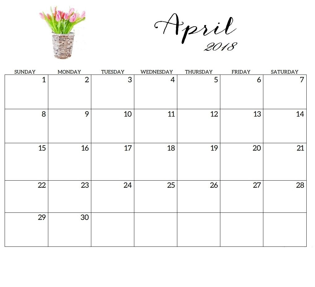 april 2018 calendar beautiful designs calendar design calendar 2018 monthly planner planners