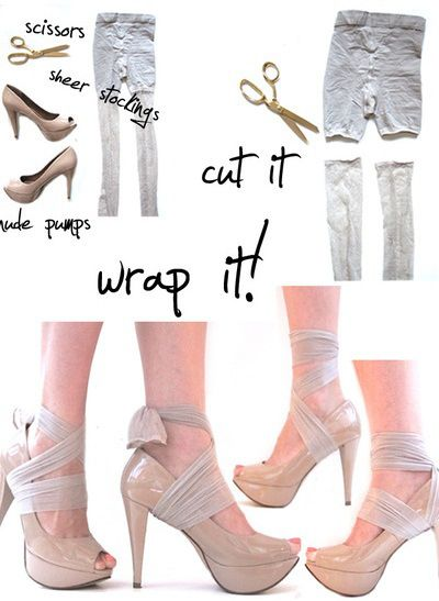 Diy shoes crafting and customizing your very own fashionable shoes heel condoms made diy as easy as solutioingenieria Choice Image
