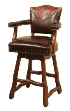 Santana Western Barstool Furniture In 2019 Saddle Bar