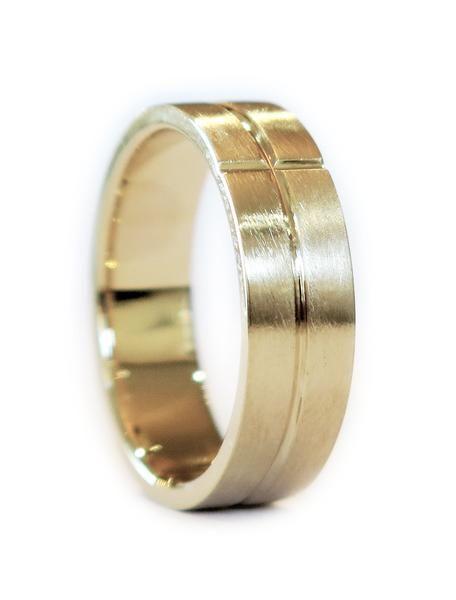 Ives Men Wedding Bandsgold