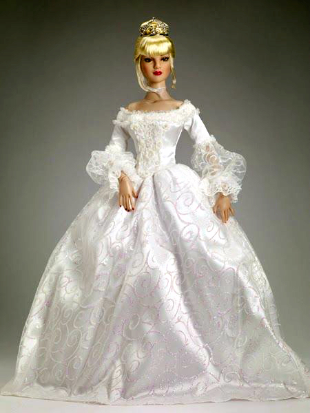 Looks like a Cinderella bridal gown. Beautiful! | Bridal Dolls ...