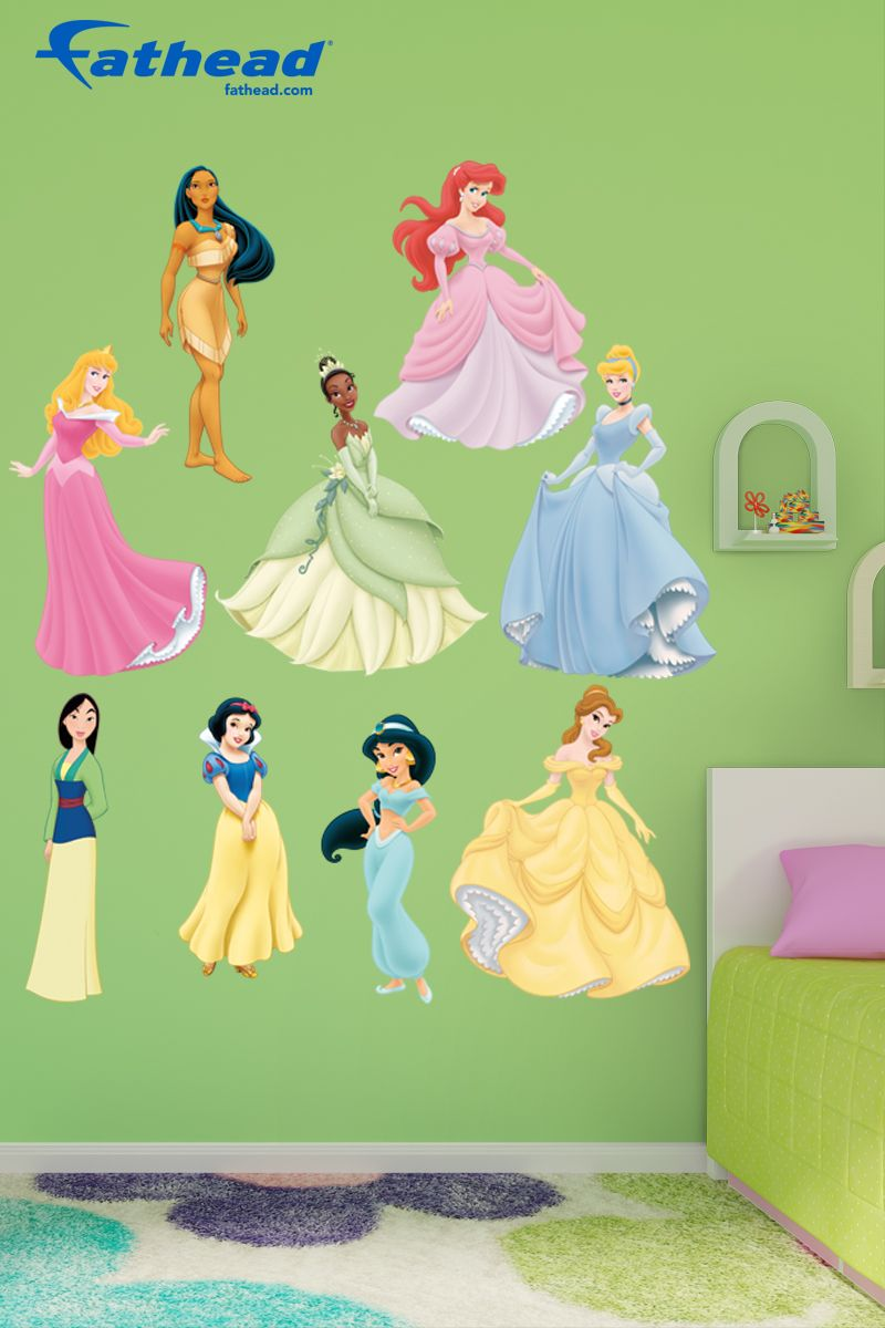 Disney Princess Collection Large Officially Licensed Removable