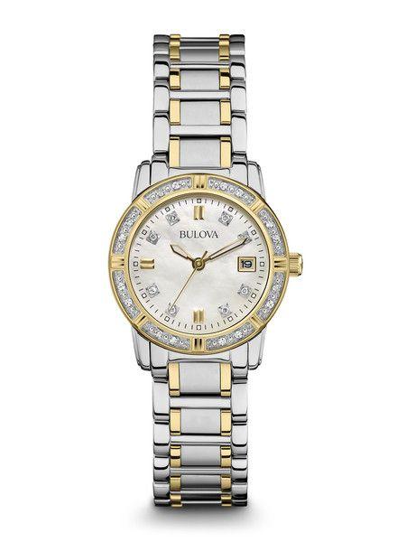 Bulova 98R107 Women's Diamond Watch | Bulova