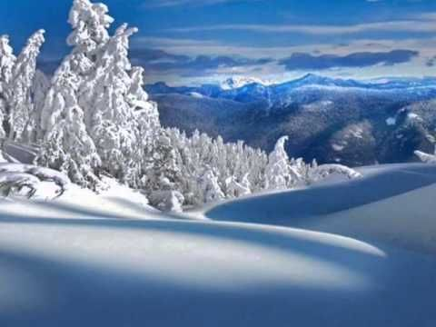 Karel Gott Azbetinska Serenada Wmv Winter Landscape Landscape Wallpaper Winter Scenery