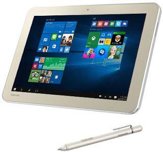 rogeriodemetrio.com: Toshiba's Windows 10 Tablet