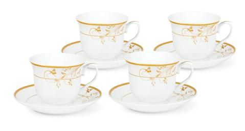 Gold Floral Bulk Wholesale Tea Cups and Saucers | Ladies lunch ...