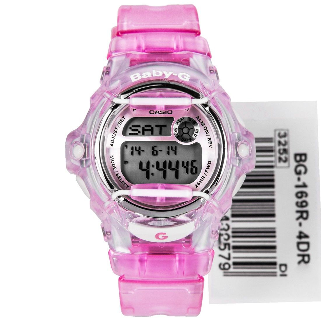 Casio Baby G Semi Transparent Watch Bg 169r 4dr Bg169r Stuff To Shock Camouflage Gd 120cm
