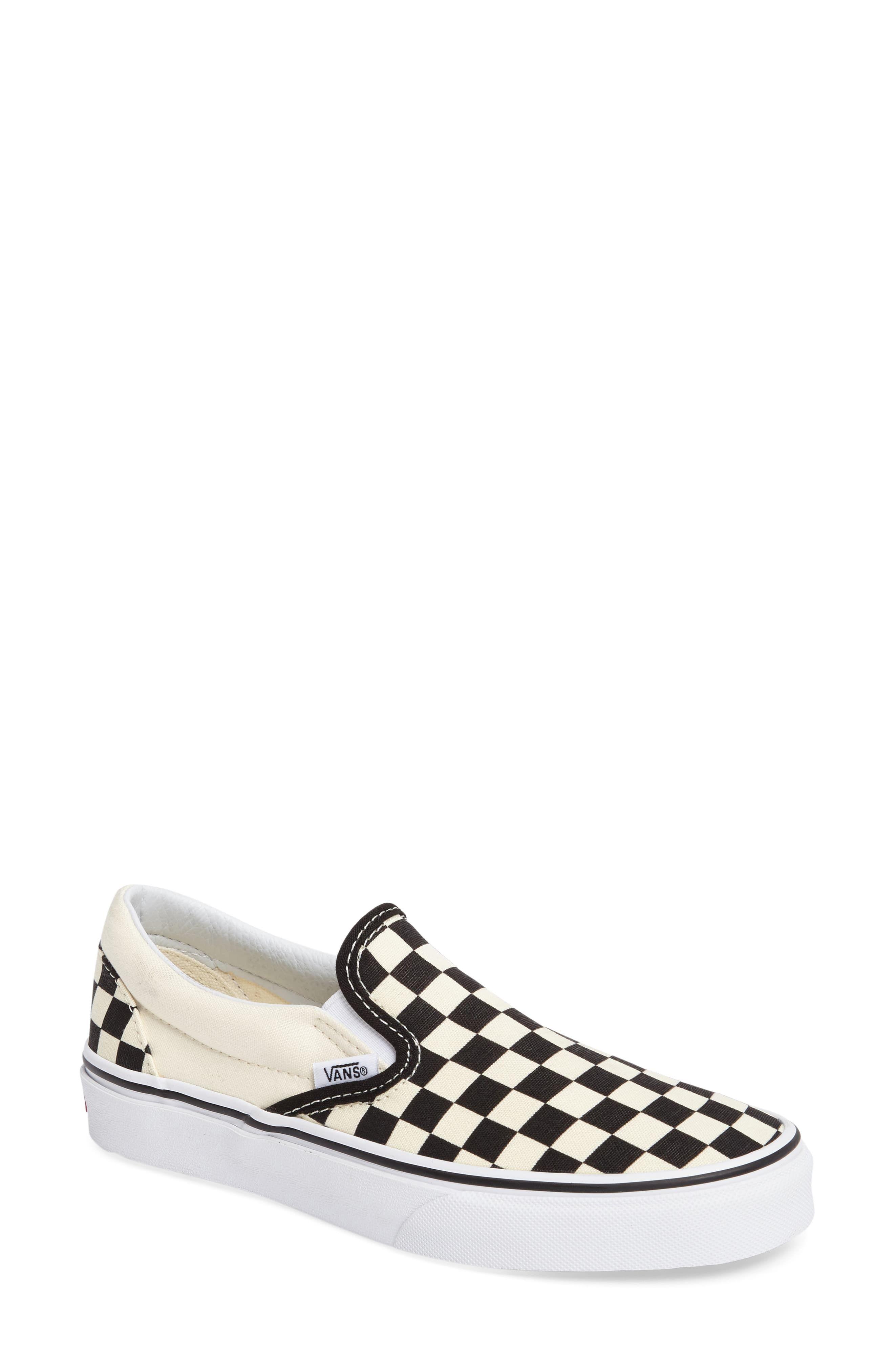 Women's Vans Classic Slip On Sneaker, Size 8.5 M Black