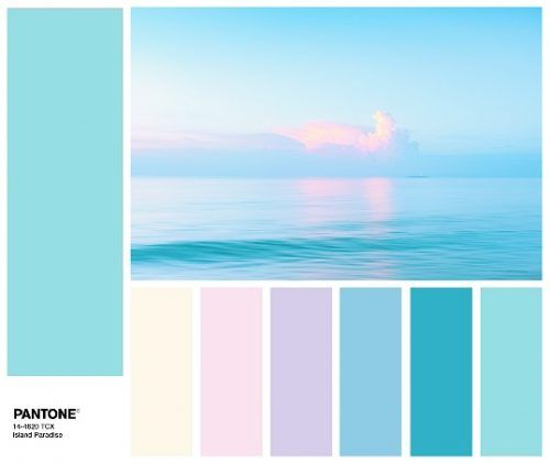 Island Paradise Pantone Colors Of The Year 2017 Color