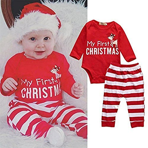 christmas outfits kids smtsmt 2pcs christmas newborn baby girls boys outfits clothes deer romper pants