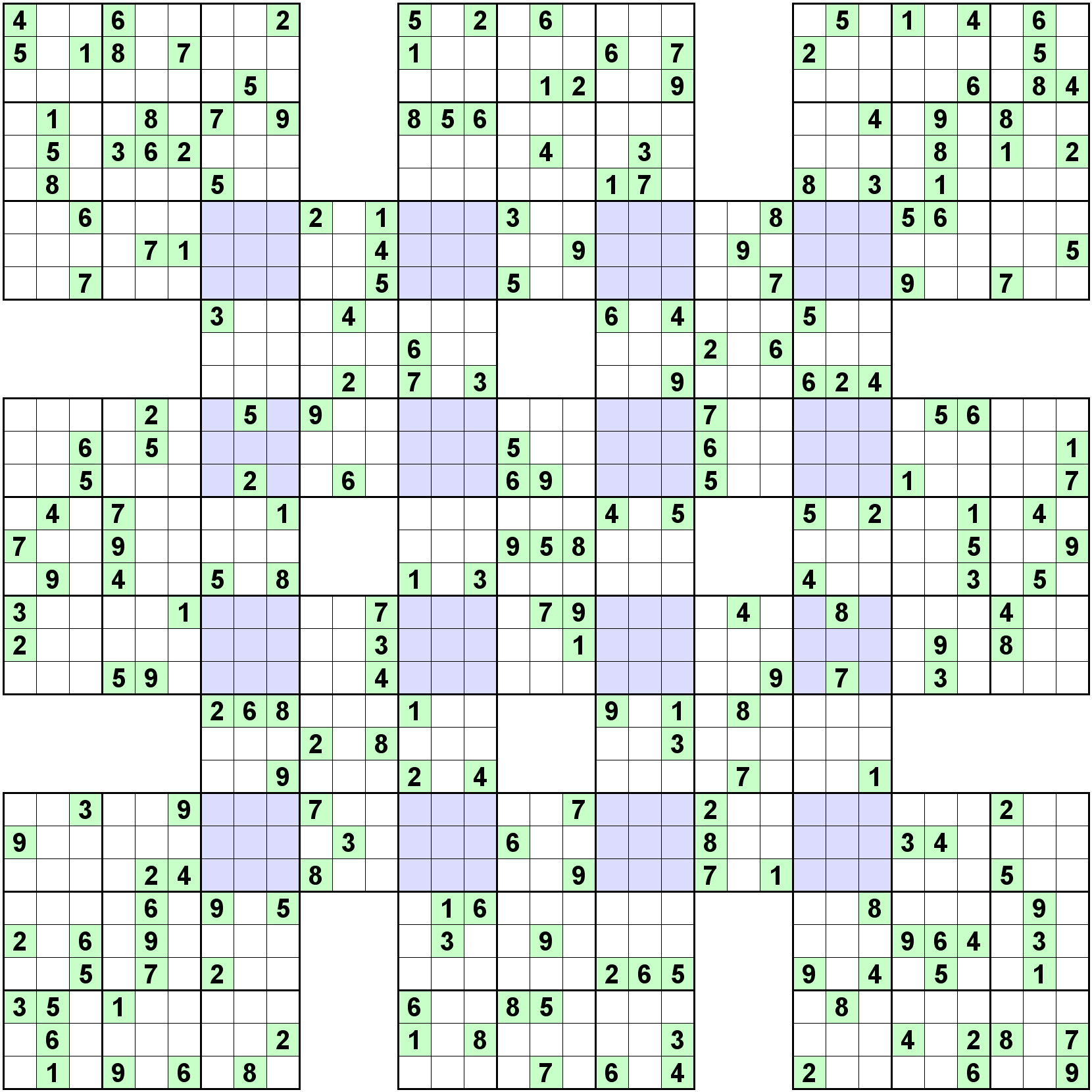 Number Logic Puzzle 7307 Sudoku Sudoku Printable Sudoku Puzzles