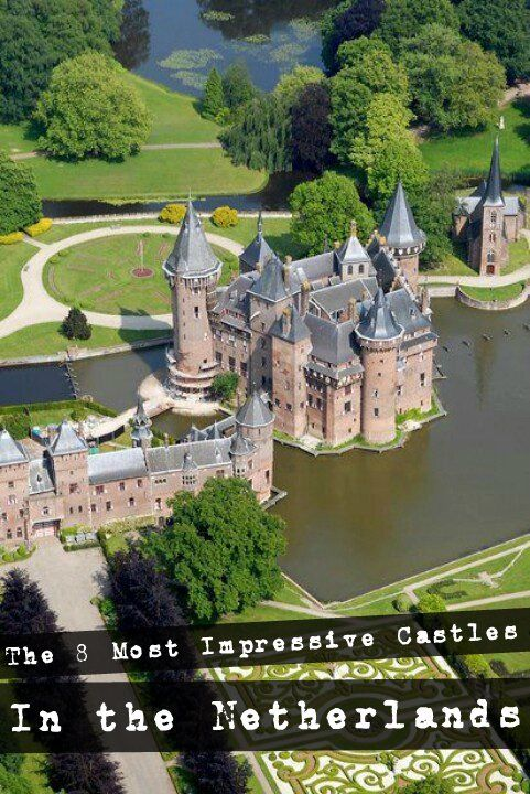 Dutch Castle Utrecht The Netherlands