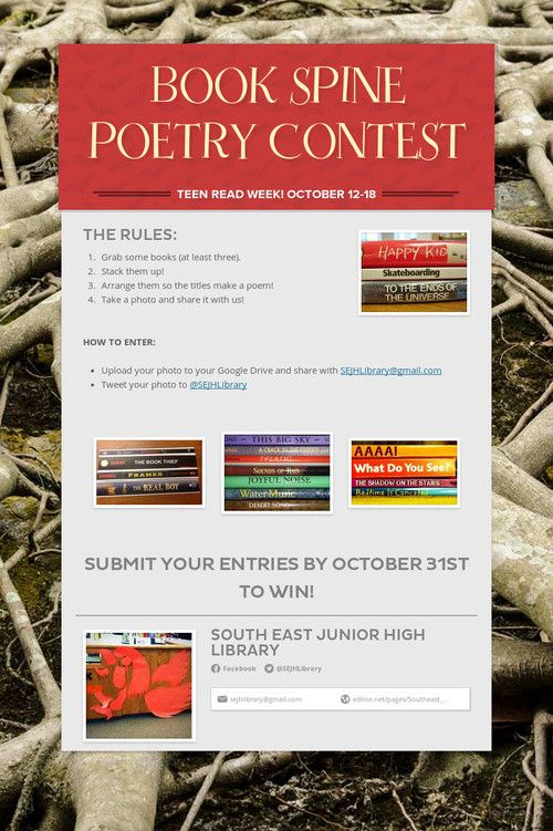 Teen poem contest