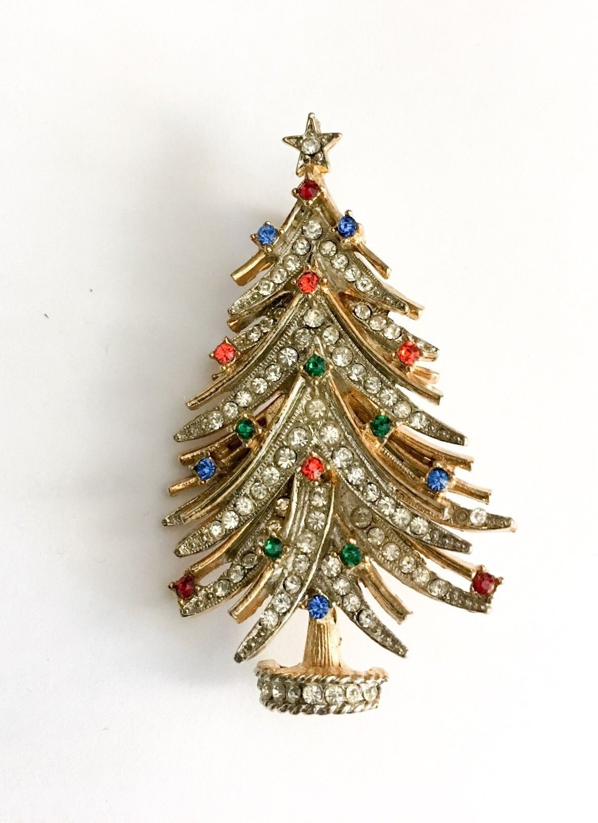 f9f4e9781da Vtg Signed ART Rhinestone Christmas Tree Brooch Pin Estate Exc Cond  Collectible FOR SALE • $27.77 • See Photos! Money Back Guarantee.
