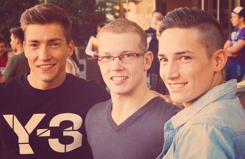 Philipp Boy, Fabian Hambüchen,Marcel Nguyen