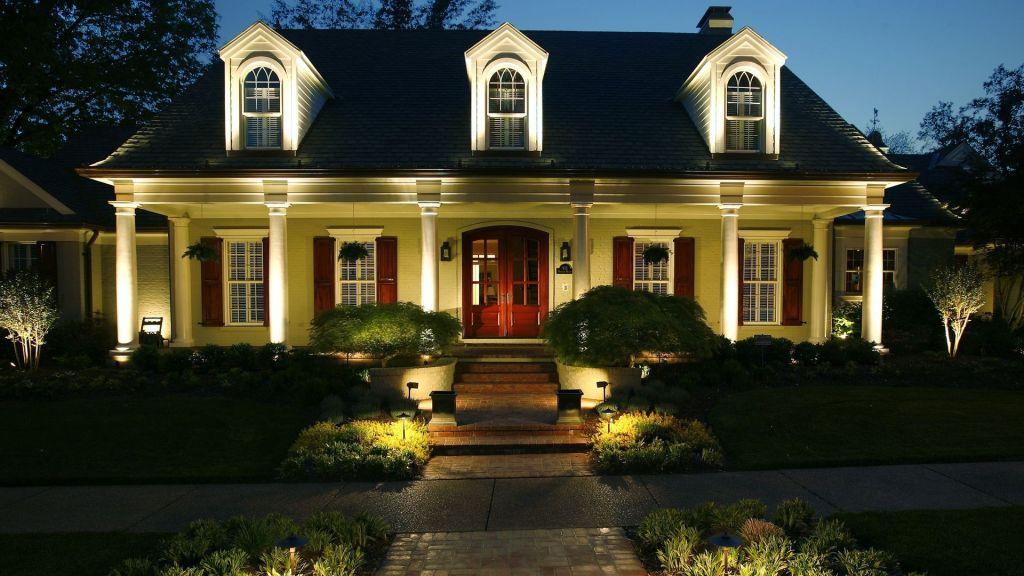 Best 100 Residential Landscape Lighting Ideas New House