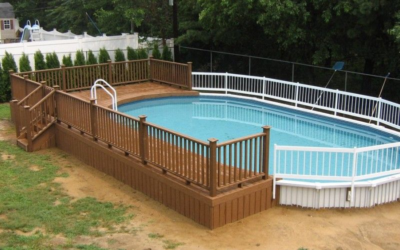 Above Ground Pool Installation Cost And Steps Can Be Varied Depending On Which Quality Do You Wa Best Above Ground Pool Pool Deck Plans Above Ground Pool Fence
