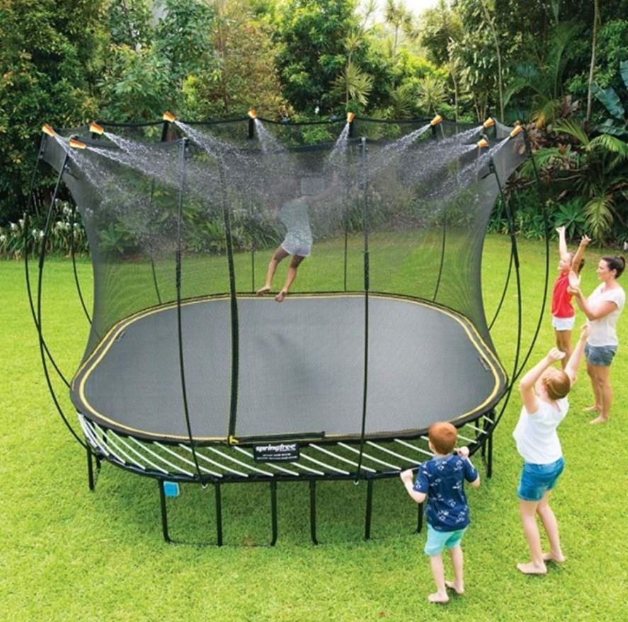Outdoor Water Game Sprinkler For Kids Fun For Summer Safe