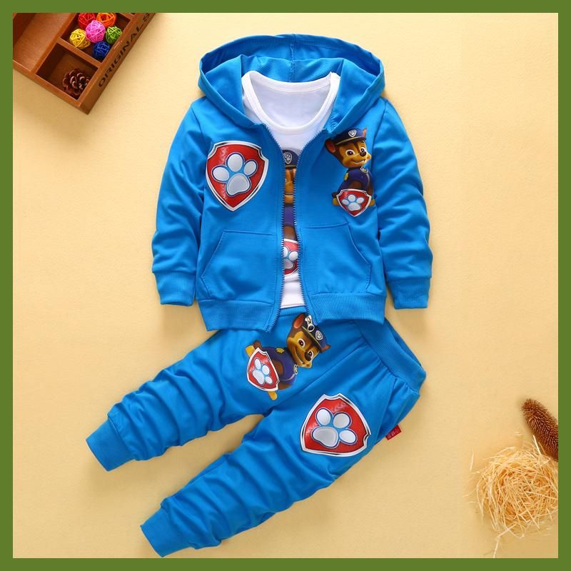 85c1d06a1 2017 New Children Kids Boys Clothing Sets Autumn Winter Sets Hooded ...
