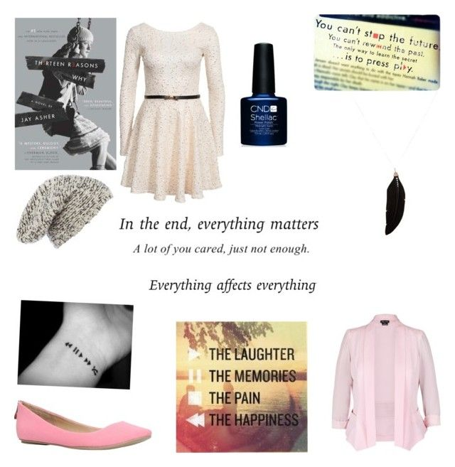 """""""Hannah baker"""" by harrypotternexrgenlove ❤ liked on Polyvore featuring Club L, Call it SPRING, Label Lab, Feathered Soul and City Chic"""