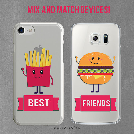 Best Friend Gift Bff Iphone Case Set 7 Plus Gifts For Bestie 8 S