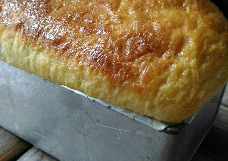Resep Roti Tawar Tanpa Ulen Empuk Lembut Oleh Ganeshalestari Resep Resep Makanan Roti