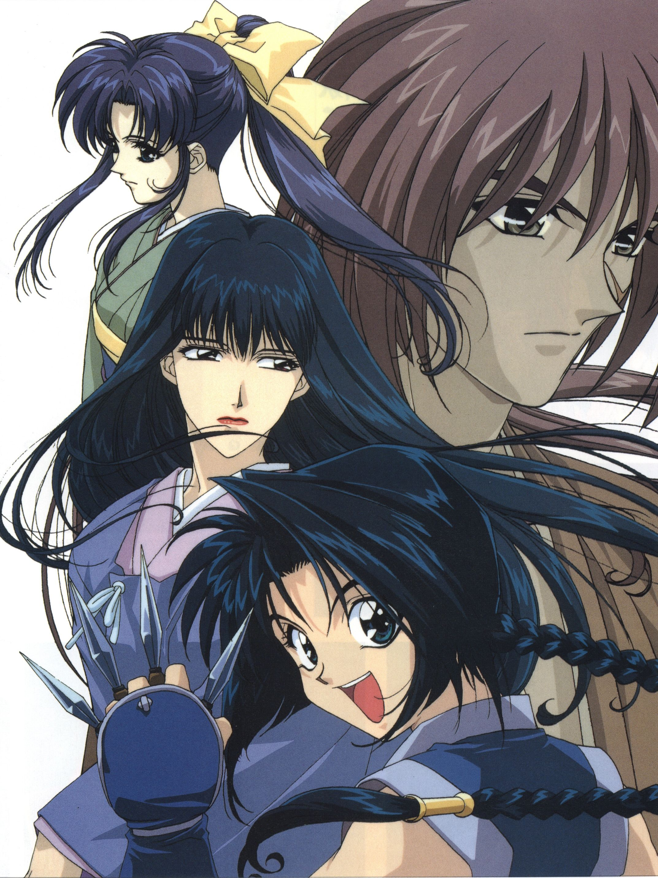 Download Rurouni Kenshin Ice Blue Eyes (2145x2860