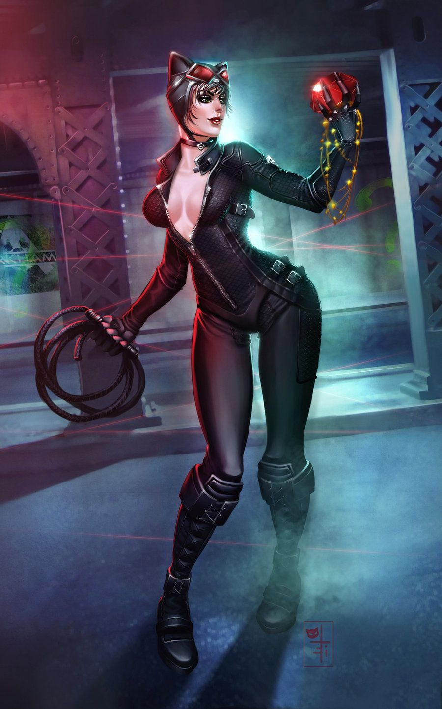 oleis deviantART gallery | Catwoman cosplay, Catwoman