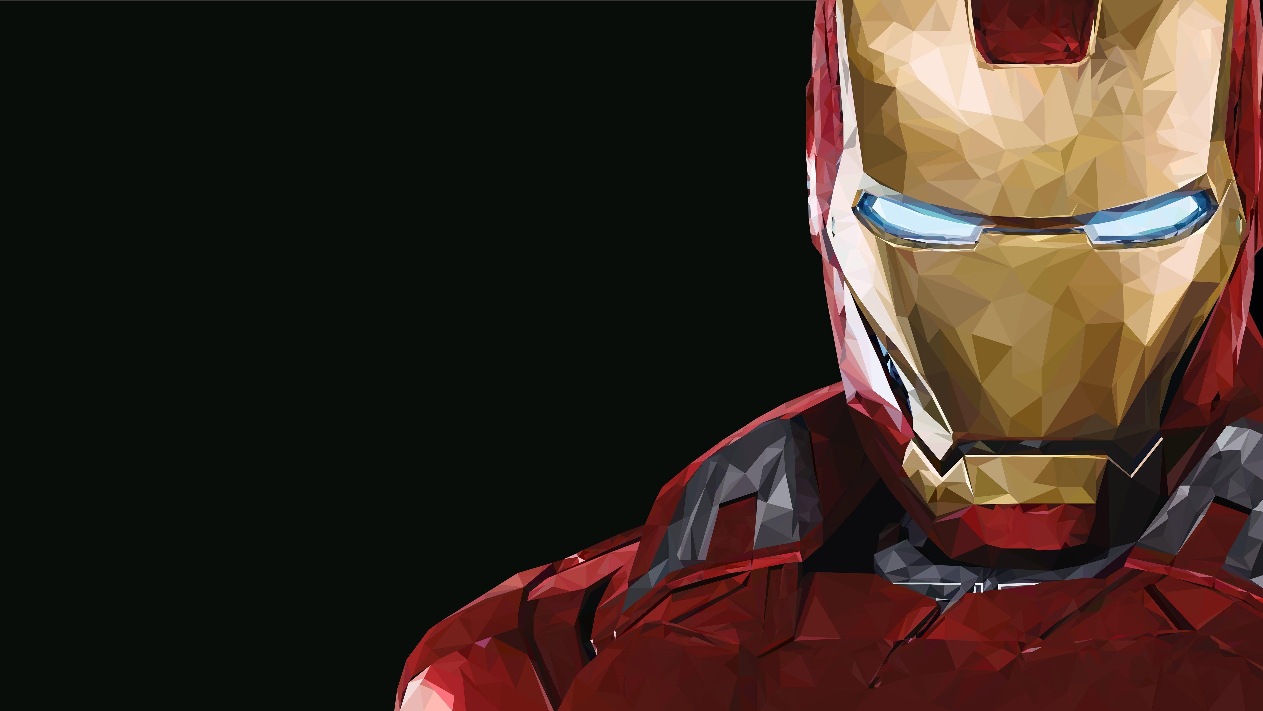 Iron Man Mark 43 Wallpaper Marvel Comics Copy Space Black Background Iron Man Iron Man Wallpaper Iron Man Mask