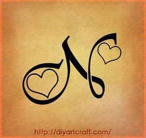 N Tattoo Idea Tattoo Font Styles Tattoo Lettering Graffiti