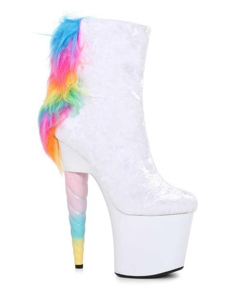 Platform ankle boots, Ellie shoes