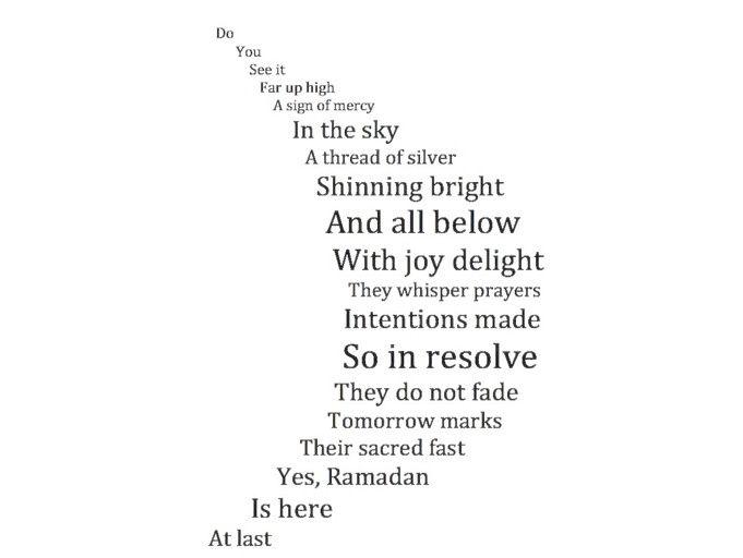 Concrete poems lessons tes teach.