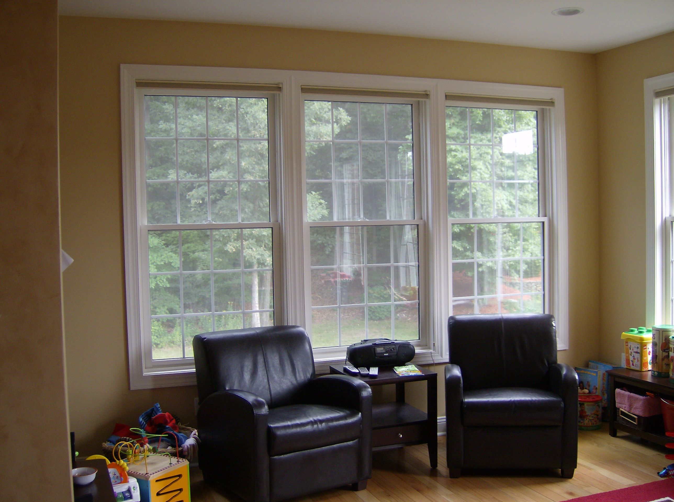 Another living room window option.