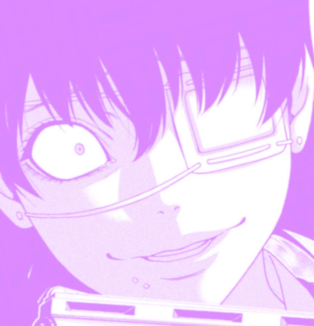 Pin By Kreyger Del Valle On Dibujo Anime Purple Purple Aesthetic Anime Purple Anime Aesthetic Cute anime wallpaper dark purple anime