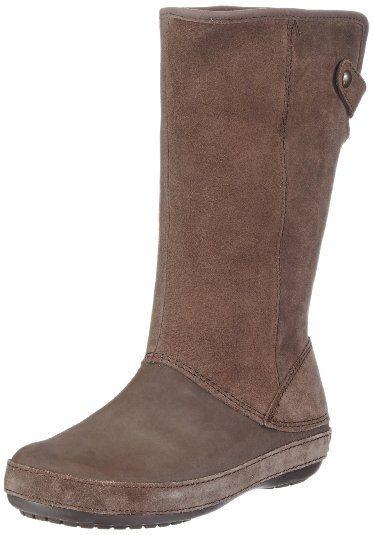 83fff37133f Amazon.com  Crocs Women s Berryessa Suede Boot  Shoes