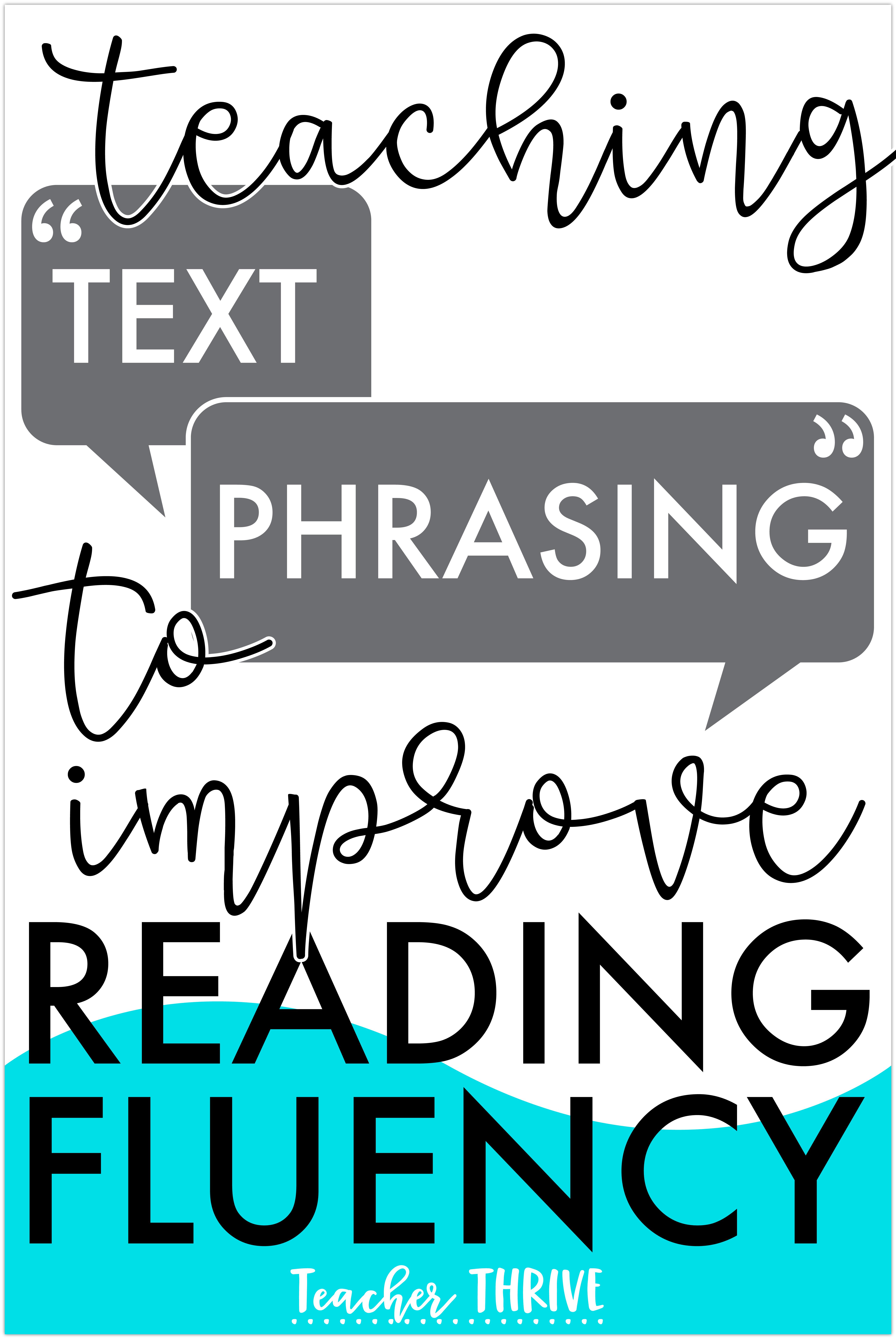 Text Phrasing And Reading Fluency Teacher Thrive Reading Fluency Reading Mini Lessons Guided Reading Lessons Kindergarten [ 7666 x 5129 Pixel ]