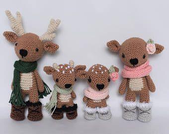 Bambola Amigurumi Natale Uncinetto 🤶 Muñeca Crochet Navidad ... | 270x340